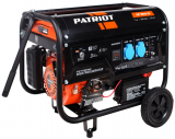 Бензиновый генератор PATRIOT GP 3810LE в Барнауле